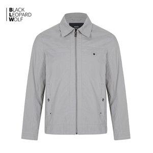 Blackleopardwolf 2020 del resorte de la chaqueta de los nuevos hombres de negocios sencilla cazadora 12087