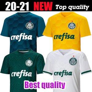 20 21 Palmeiras L.ADRI soccer Jerseys 2020 Home green #9 BORJA Soccer Shirt Away White #7 DUDU Palmeiras Goalkeeper 3rd football uniforms