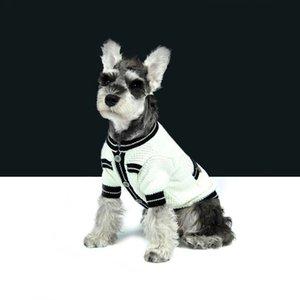 Simples Padrão Animais Camisolas Primavera Queda Personalidade Adorável Pet Coats clássico Soft Touch Buldogue Jackets peluche
