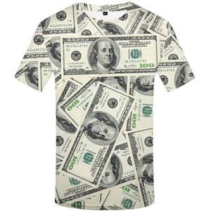Manga de las camisetas de la calabaza de impresión de cuello redondo para hombre Tops para hombre de la fiesta de Halloween Tees Digital Impreso diseñador largo