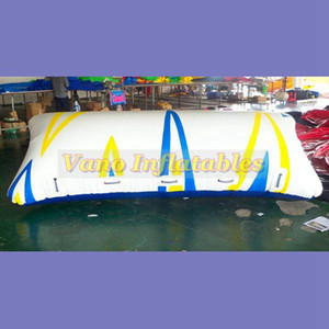 Şişme Su Blob Jump 7m Uzun Yüksek Kalite PVC Tente Atlama Yastık Hava Yastığı Ücretsiz Pompası Ücretsiz Kargo