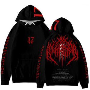 Pulls Sweat-Shirts rappeur américain xxxtentacion noir Hoodies 19ss Nouveau Printemps oversize vengeance amour