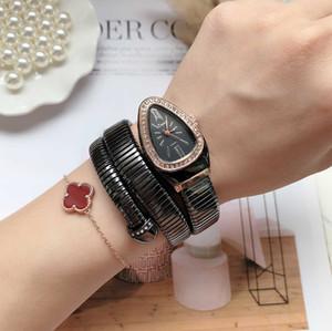 Enfriar brazalete de la serpiente mujeres de los relojes de moda Infinity reloj pulsera marca femenina de reloj de cuarzo Reloj religiøs Montre femme