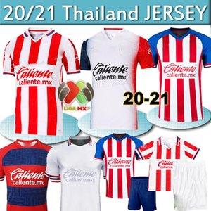 2020 Chivas maillot de football 19 20 21 mx liga chivas Guadalajara maison loin BRIZUELA 3 Maillot de foot hommes + enfants de Camiseta futbol Thaïlande