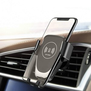 Qi Car Wireless Charger For iPhone SE2 11 Pro XS Max X XR 8 Fast Wireless Charging Car Phone Holder For Samsung S9 S10 S20