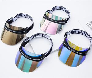 Hochwertige transparente Sonnenbrille UVSonnenbrille Art und Weise blenden Farbgradient Sonnenbrille Kappen haben einstellbare Größen von 56-62 cm