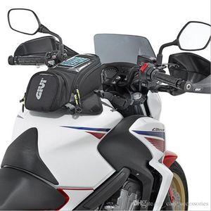 GIVI Moto Nouveau Sac de carburant Navigation sur téléphone portable Sac multifonctions Petit réservoir d'huile Paquet magnétiques sangles fixes __gVirt_NP_NN_NNPS<__ EEA76 fixe