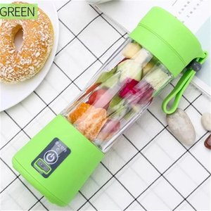 Portable Blender MINI USB rechargeable Electric Juicer Blender 380ml 2 Blades Fruit Juicer Maker Blender Sports Juicing Cup 10pcs T1I2014
