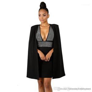 Profundo diseñador del Rhinestone de los vestidos de moda sin respaldo del club de noche vestidos de fiesta 3Pcs verano de las mujeres vestido atractivo del cuello en V