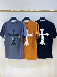 Bellezza marea 20ss camicia CH Chrome dimensioni classico cuori croce perdono casuali di sport girocollo manica corta uomini e le donne della maglietta