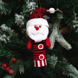 Noel ağacı Dekor Şeker Çanta Süsler Yılbaşı Dekoru Noel Baba parti dekor pazen Bırak Süsler