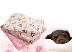 애완 동물 담요 강아지 담요 애완 동물 수면 패드 매트 소프트를 인쇄 양털 개 고양이 수면 담요를 던져 따뜻한 발
