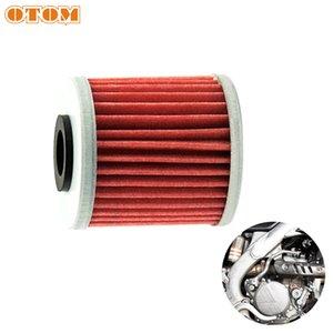Фильтр очистки OTOM Motorcycle Oil Для KX250F KX450F Motorcorss Dirt Bike двигателя Топливный фильтр Очиститель