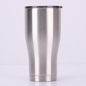 스테인레스 스틸 커브 텀블러 20온스 더블 벽 진공 컵 머그잔 여행 클래식 컬렉션 스파클 홀로그램 텀블러 누설 방지 뚜껑