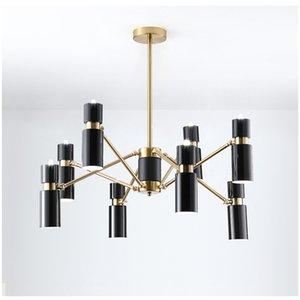 Nordic Loft Art Bedroom Led Pendant Lights Creative Rotatable Head Design Livingroom Bar Studio Decoration Light Fixtures