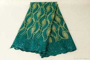 Africano Laces tecidos bordados nigeriano 3D Guipure Francês Cord tela do laço de alta qualidade Africano Francês Net Lace Fabric