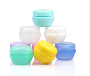 30 Stücke Kosmetische Glas Creme Container Kosmetische Verpackung Kunststoff Pilz Box Kunststoff Sub-Flasche Creme Glas 5g 10g 20g 30g 50g