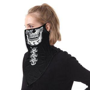 P2pN5 401-430 Couvre-chef Arrivée Polyvalence style Crâne Bandana Tube écharpe transparente Turban hijab Bandeau Bandana nouveau masque