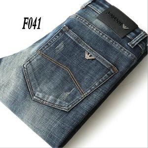 F041 AJ-Jeans ilkbahar ve sonbahar Pantolon Kalın kadife pantolon Erkekler pantolon Stretch kot pamuk pantolon pantolon düz casual yıkanır