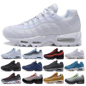 2019 Men 95 OG Cuscino Navy Sport Nike Air Max 95 di alta qualità Chaussure 95s Stivali da passeggio da uomo Scarpe da corsa Cuscino 95 Scarpe da tennis Taglia 36-46