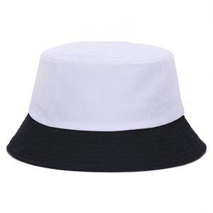 2019 New Hip Hop Caps for Men Women Cotton Bucket Hats Fishing Hat Solid Women Panama Bucket Cap Fashion Casual Fishmen Cap