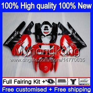Para corpo KAWASAKI ZX900 900 CC 9 R 94 97 1994 1995 1996 1997 221MY.0 ZX 900 ZX 9R 900cc ZX9R ZX9R 94 95 96 97 carenagens kit de Fábrica preto vermelho