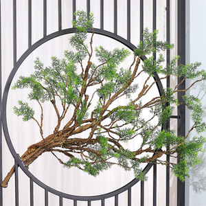 artificial flowers Wedding home Garden Backdrop Decoration real touch platic tree Twig branch Wall Hanging Rattan Plant flexible flower vine
