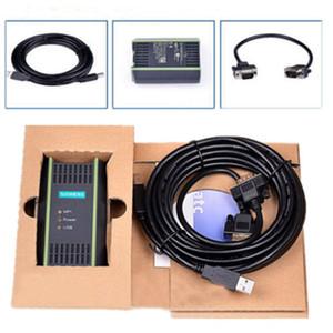 Freeshipping 2pcs / серия Высокое качество нового PLC Кабель для Siemens S7 200/300/400 6ES7 972-0CB20-0XA0 USB-MPI + PC USB-PPI