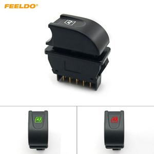 FEELDO Auto Universal Window puissance voiture Switch 12V / 24V 20A avec éclairage rouge / vert # 1439