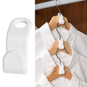 6pcs / lot del gancio di vestiti Linking Ganci guardaroba Collegare Ganci Rails bagagli Organzier Hook
