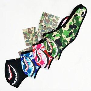 Camouflage Shark Maske Training Laufen rding windundurchlässiges Warme Ski Männer Frauen Halbmaske Abdeckung Schutz vor Kälte im Freien Maske Halten iqDYm2 #