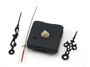 Neues Design 20 stücke Haus Dekorieren Uhr Teile Zubehör Geschenke Quarzuhr Bewegungen Ganz Kein Ton Stille Spindel Mechanismus + Nadeln