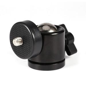 """Mini cabeza de la bola del trípode de cámara DSLR 360 giratorio rótula de bola mini soporte del sostenedor del montaje de 1/4"""" Tornillo Cámara Accesorios Top"""
