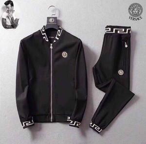 2019 SS Hot Sale Set Sportswear Männer Kapuzenpullover Hosen Männer Pullover Pullover Frauen Casual Tennis Sport M-3XL