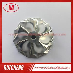 TD04HL 13T 40,61 / 56.02mm 6 + 6 cuchillas turbo tocho / molienda / aluminio 2618 rueda de compresor para 49377-04200