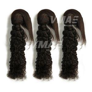 Бразильская девственная волна воды оплетка в пучках оплетка в переплетениях человеческих волос 3 пучка необработанных высококачественных наращивание волос от 10 до 28 дюймов