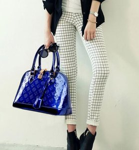 2020 дамы высокого класса лакированная кожа мода мать и ребенок сумочка диагональный крест сумка Бесплатная доставка 008