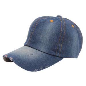 Hot baseball cap Fashion Men's Women's Jean Hats Casual Hat Casual Denim Baseball Cap Sun Hat Gorras