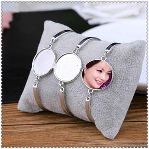bracciali sublimazione in bianco per i materiali di consumo braccialetto gioielli stampa transfer a caldo le donne della moda di New arrvial