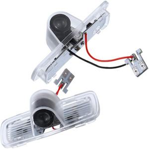 2PCS Araba LED Projektör Kapı Işık Lambası Hayalet Gölge Welcome (Honda Accord için) Işık Araba LED Nezaket Logo Işık Kiti
