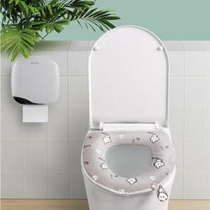 FAROOT Yeni Ev Banyo Klozet Kapağı Yıkanabilir Yumuşak Isıtıcı WC Mat Kapak Pad Yastık Klozet Takımı Kapaklar
