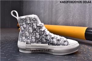 El más reciente Casual Flores Técnica lienzo B2-hi-top deportivo oblicua Zapatos altos Entrenadores de calidad para mujer para hombre de los zapatos de lujo