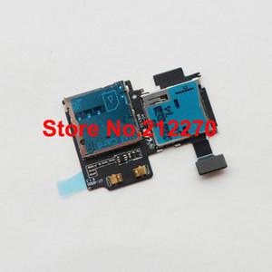 D'origine Nouveau lecteur de carte SD Plateau SIM fente Câble Flex pour Samsung Galaxy S4 i9500