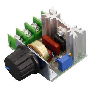 AC 220 فولت 2000w الجهد منظم SCR يعتم مخيمات المخرطات سرعة المحرك تحكم ترموستات الجهد المنظم