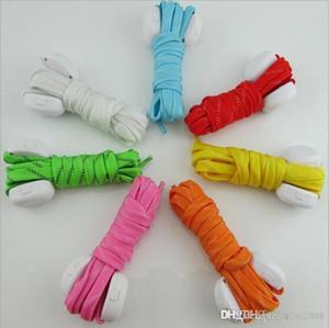 7 Colors LED Lamp Flashing Shoe Lace LED Shoelaces Luminous Shoe Laces Light Up Flash Glowing Shoeslace