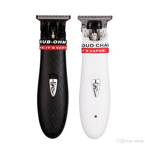 Profesional Inalámbrico podadoras de pelo de la barba de afeitar para hombres Barbero Segadora eléctrica 0.1mm corte de acero de corte de pelo Máquina