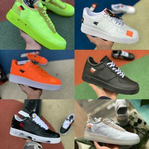 2020 beat Designer Shoes Vintage Forces nouvelles espadrilles de patin Triple Noir Blanc Brun Lin orange Hommes Femme plates Chaussures décontractée en plein air formateur