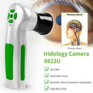 Nuovo Iriscope fotocamera digitale iridologia macchina di prova occhio professionale 12.0MP Iris analizzatore scanner DHL