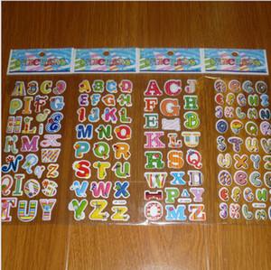 Cartoon Kids Room Bubble stickers muraux cecor ABC NUMBER Cartoon enfants éducatifs petits autocollants jouets