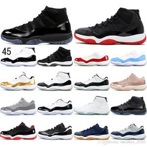 Nike AIR Jordan 11 Com meias 2019 Concord 45 High 11 XI 11 CAP E VESTIDO CONCORD CAROLINA EMERALD GEORGETOWN Bred Homens Tênis De Basquete sports Sneakers 36-47